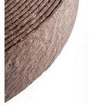 Ekoboard randafwerking 14 cm x 25 meter - Bruin Cortenstaal_