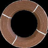Ekoboard randafwerking 19 cm x 15 meter - Bruin Cortenstaal_