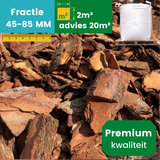 Premium Franse Boomschors 45/80mm - 2m³ _