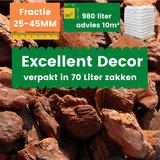Franse Boomschors Decor 25-45mm Excellent 980 liter - Zomer Deal_