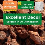 Franse Boomschors Decor 25-45mm Excellent 1470 liter - Zomer Deal_