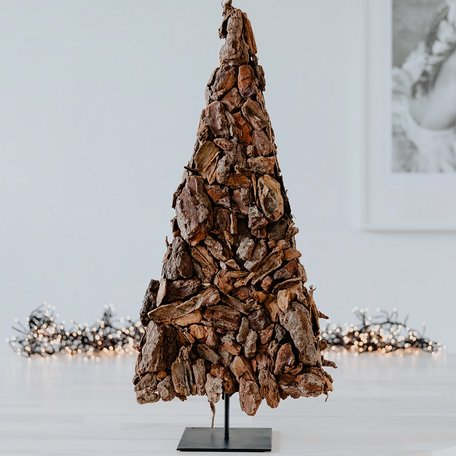 Kerstboom van Boomschors