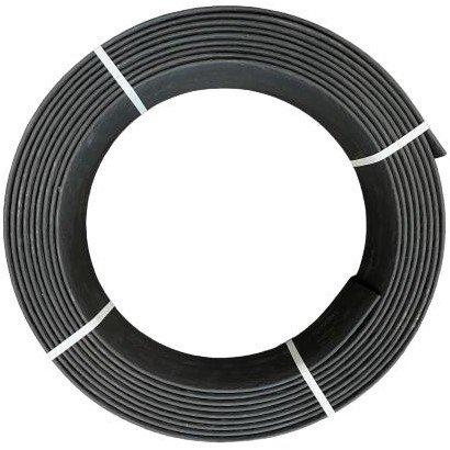 Ekoboard randafwerking 19 cm x 15 meter - Zwart