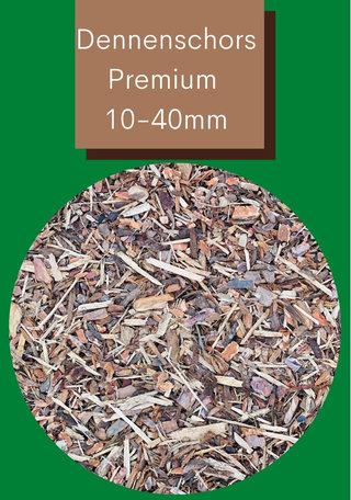Dennenschors Premium 10/40mm 1470 Liter