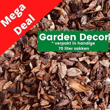 MEGA DEAL - Boomschors Garden Decor 25-45mm 2520 liter