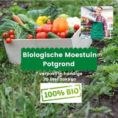Biologische Moestuin Potgrond 7 x 70L