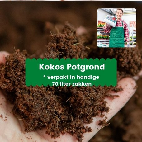 Kokos Potgrond 1.470 liter (21 x 70 liter)