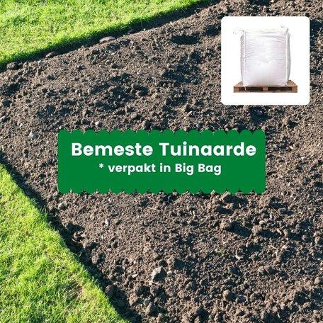Bemeste tuinaarde - 1m³ incl. bezorging (big bag)
