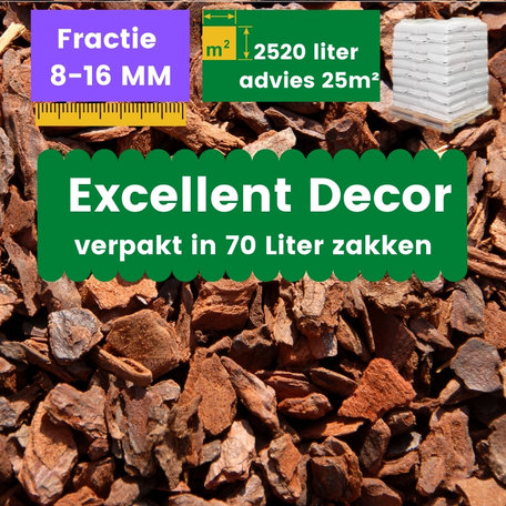 Franse Boomschors Decor 8-16mm Excellent 2520 liter