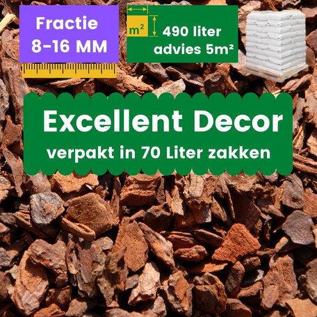 Franse Boomschors Decor 8-16mm Excellent 490 liter