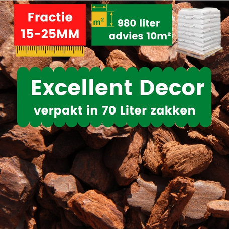 Franse Boomschors Decor 15-25mm Excellent 980 liter