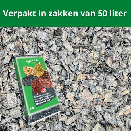 Houtsnippers Ardoise (grijs/zwart) 500 liter