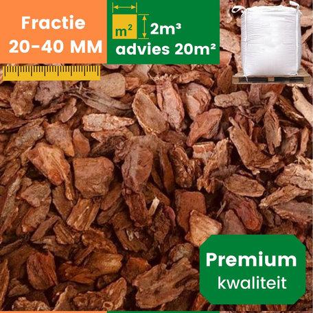 Premium Franse Boomschors 20/40mm - 2m³