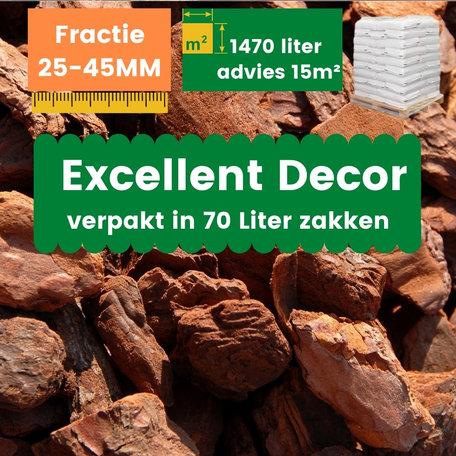 Franse Boomschors Decor 25-45mm Excellent 1470 liter - Zomer Deal