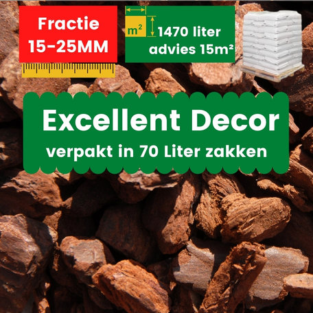Franse Boomschors Decor 15-25mm Excellent 1470 liter - Zomer Deal