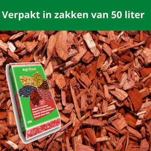 Houtsnippers Bruin 500 liter
