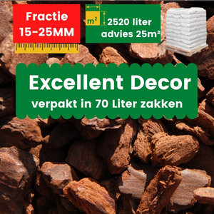 Franse Boomschors Decor 15-25mm Excellent 2520 liter