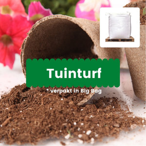 Tuinturf in Big bags verpakt