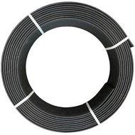 Ekoboard randafwerking 14 cm x 25 meter - Zwart